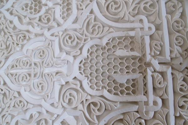 Mamounia Wall Detail
