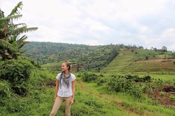 Maria in Rwanda
