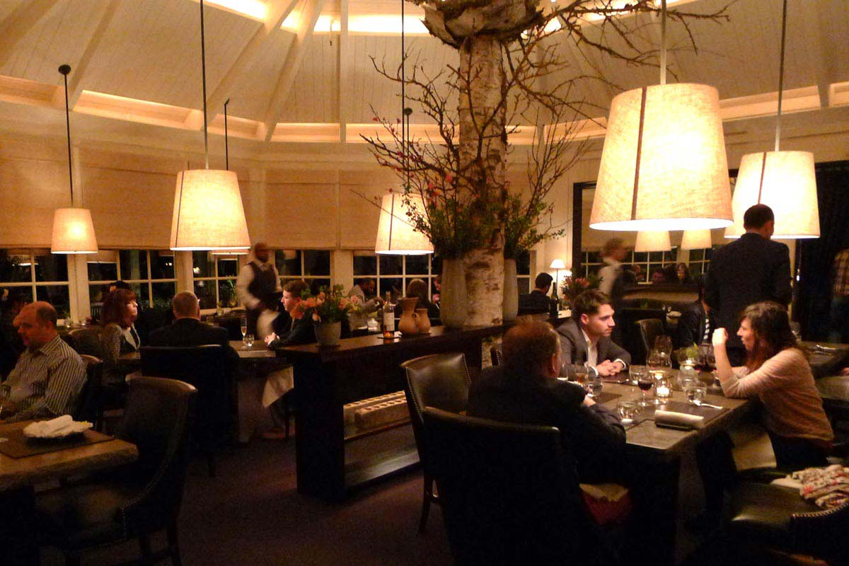 Meadowood dining room