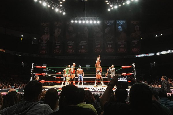 Lucha Libre, Arena Mexico, Mexico City