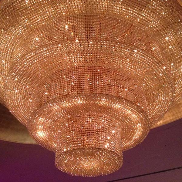 Fontainebleau chandeliers