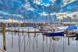Newport Harbor.