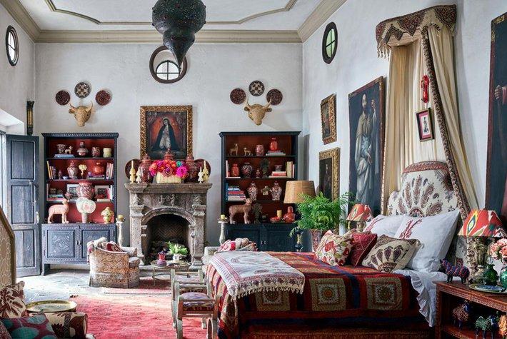 Michelle Nussbaumer's home in San Miguel de Allende.