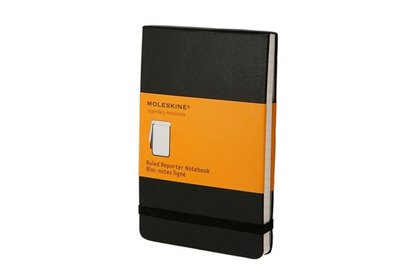 Moleskin Ruled Reporter Notebook