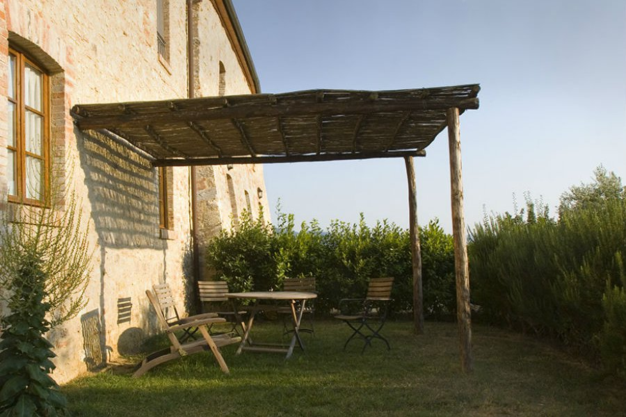 Hide Beneath Your Own Pergola
