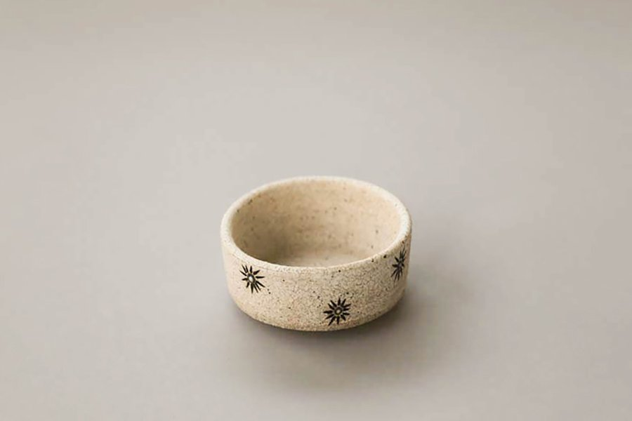 Mini White Star Bowl