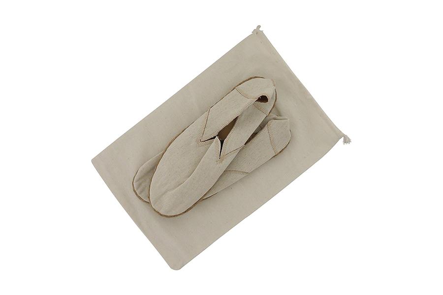 Muslin Drawstring Shoe Bags
