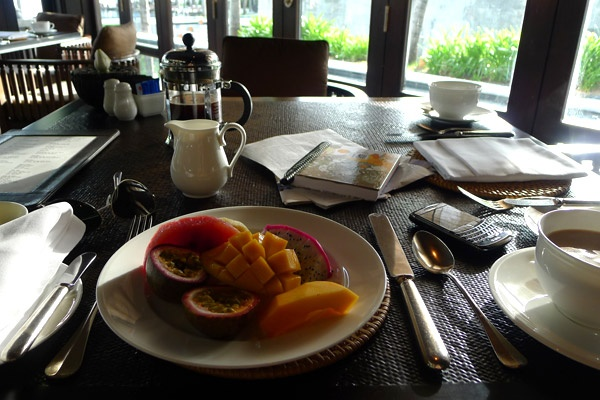 Breakfast at the Nam Hai