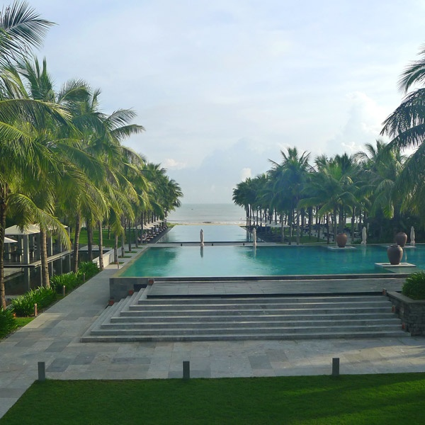 Pools at the Nam Hai