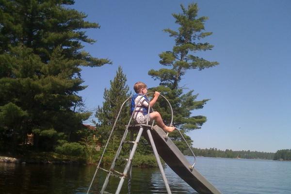 vintage summer on crane lake fathom. Black Bedroom Furniture Sets. Home Design Ideas