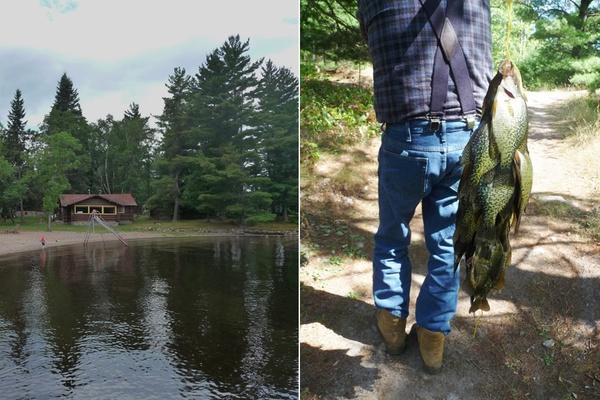 Fathom vintage summer on crane lake for Minnesota fishing cabins