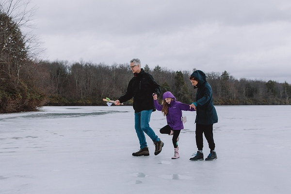 Sand Pond, Family