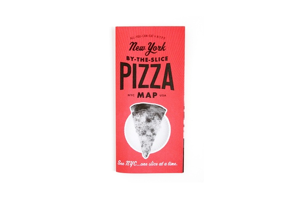 New York By The Slice Pizza Map