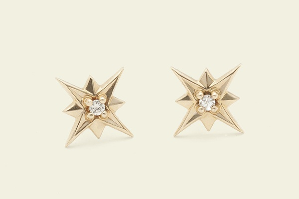 Erica Weiner Compass Rose Earrings