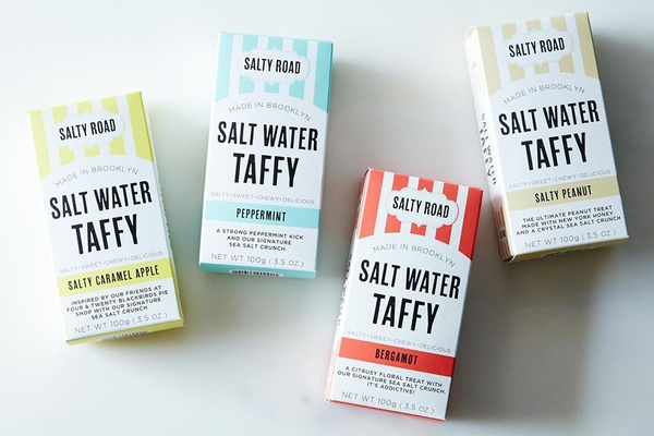 Salty Road Salt Water Taffy Pack