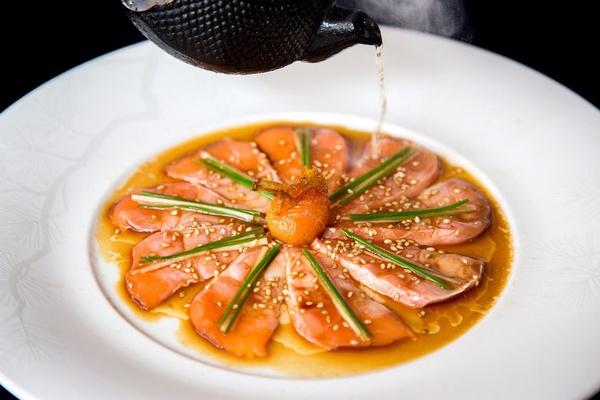 Nobu new style sashimi