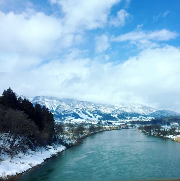 River outside Nozawa Onsen