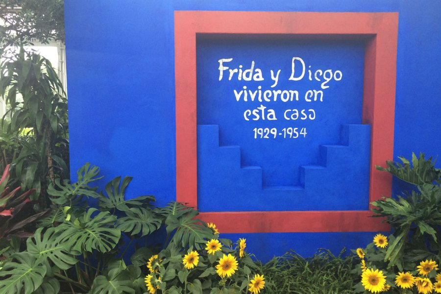 Welcome to Frida and Diego's House
