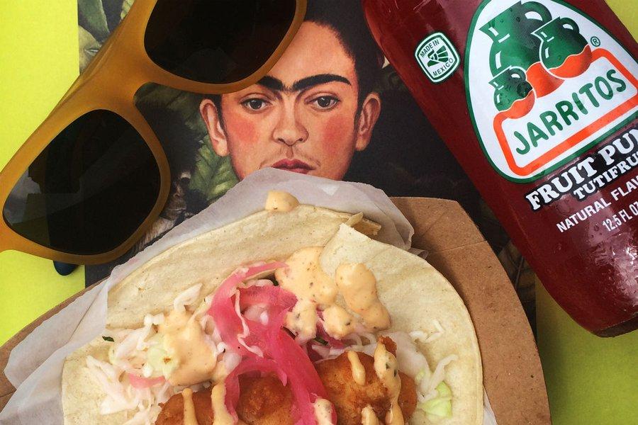 Fish Taco and Jarritos