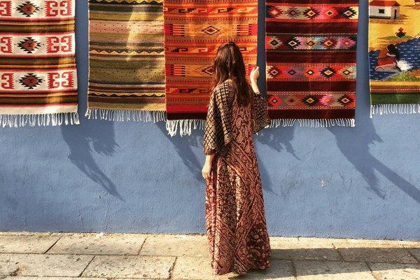 Rugs in Oaxaca