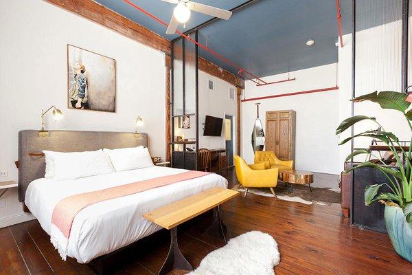 Saegan Swanson Artist Loft Suite