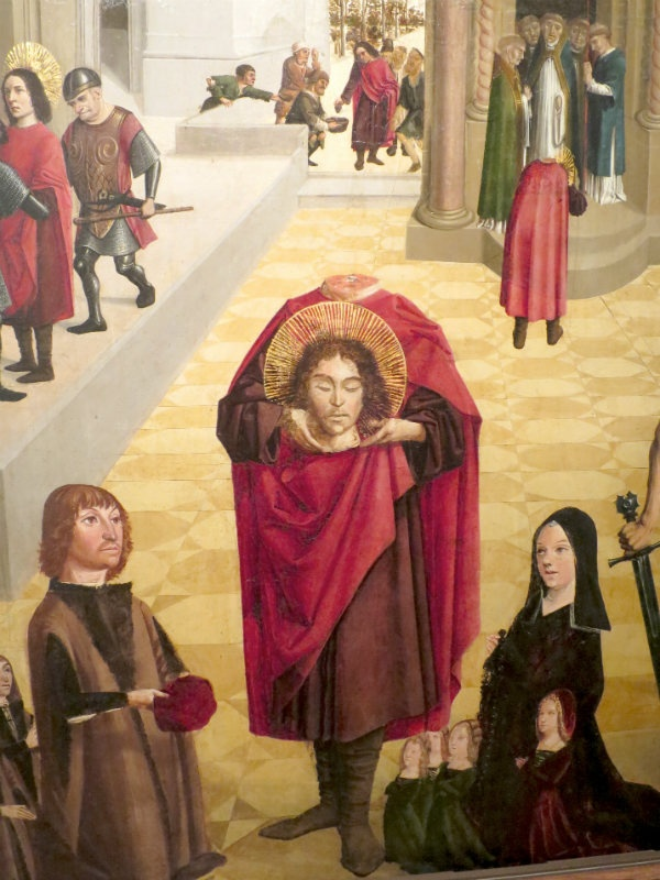 Saint Saveur Cathedral painting