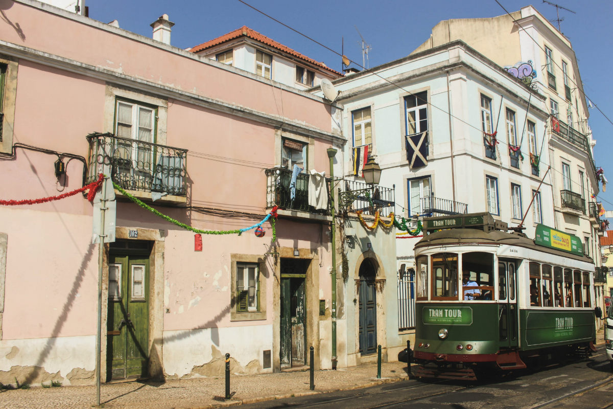 The Alfama district, Lisbon