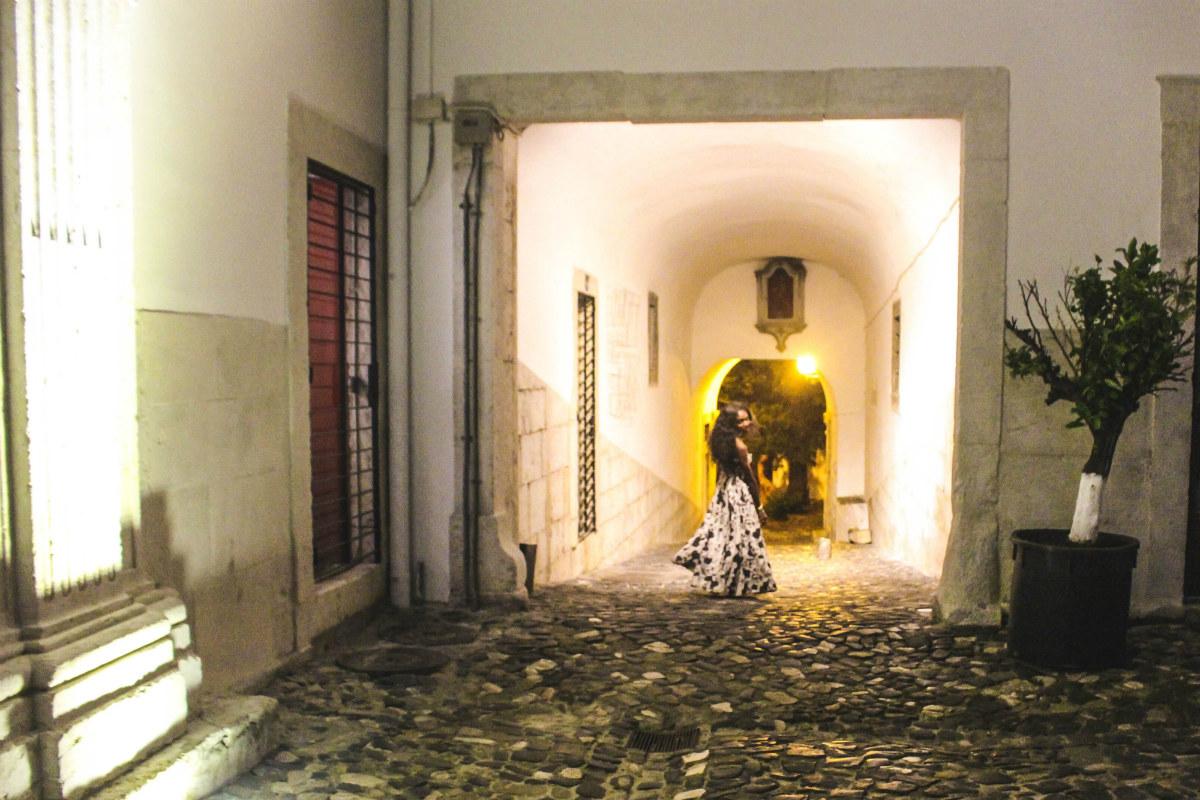 Palacio Belmonte courtyard
