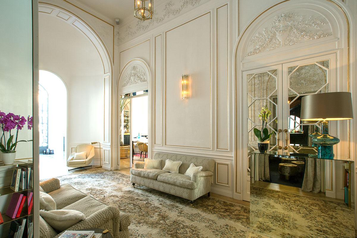 Palazzo Dama Hotel Hallway