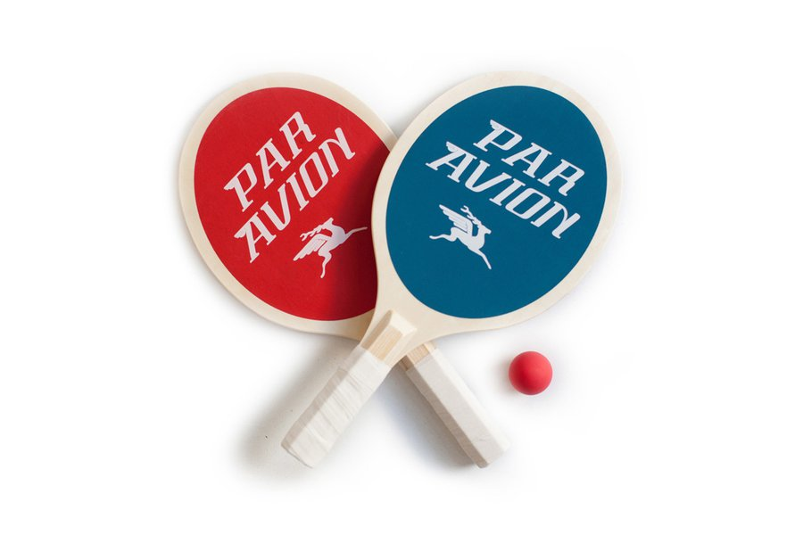Par Avion Paddle Ball Set