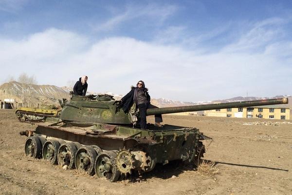 Paula Froelich Afghanistan