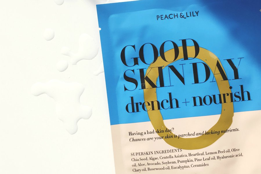 Peach and Lily Good Skin Day Drench and Nourish Sheet Mask