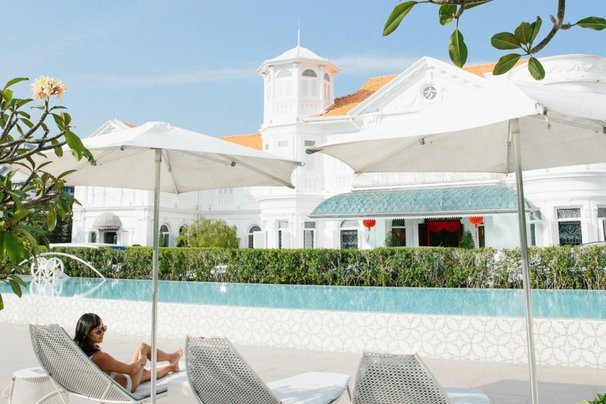 Macalister Mansion swimming pool - George Town, Penang, Malyasia