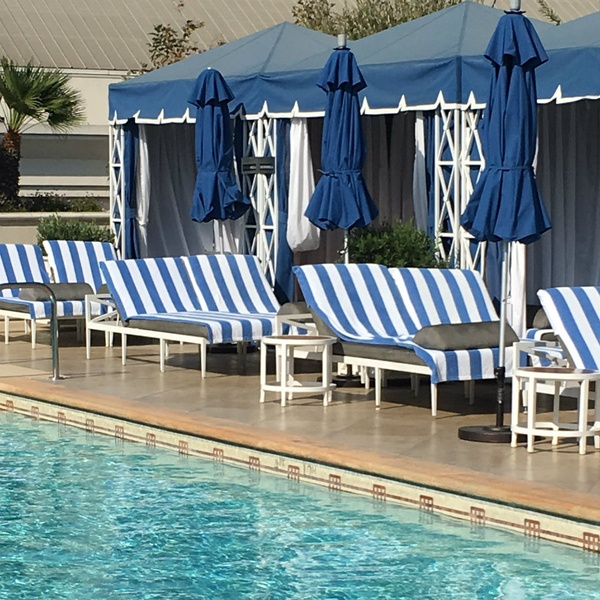 Peninsula Beverly Hills pool