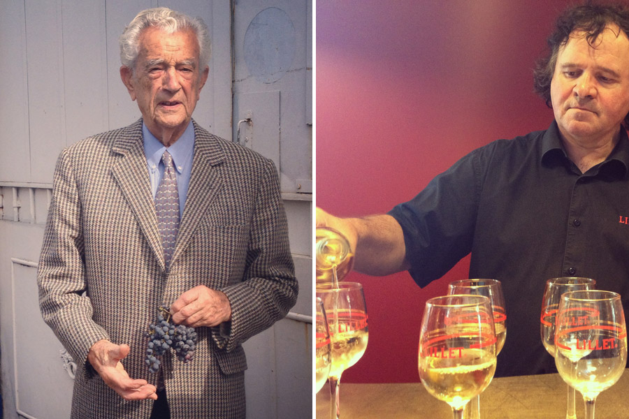 Pierre Lillet and Master Cellar