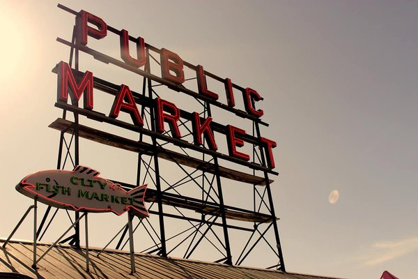Pike Place Market, Seattle Washington