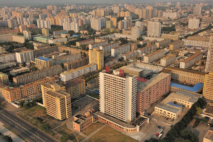 Pyongyang buildings