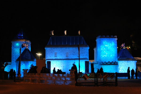 Quebec City Ice Palace