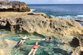 Queen's Bath on Eleuthera Island, Bahamas