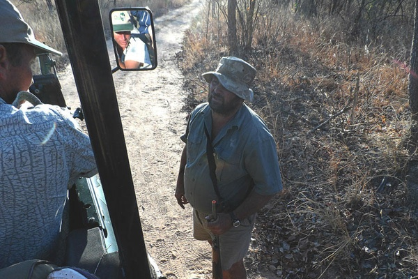Rhodes Matopus National Park, Zimbabwe.