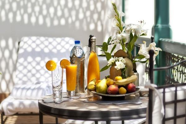 Riad Farnatchi breakfast