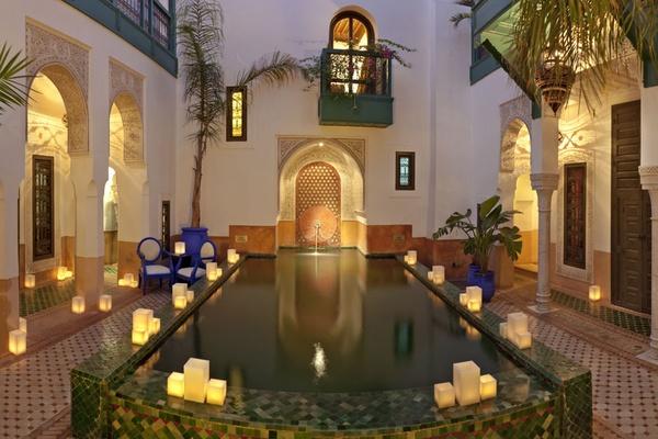 Riad Farnatchi pool