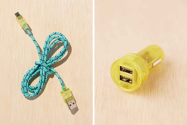 Friendship Forever USB Cable and Car Charger