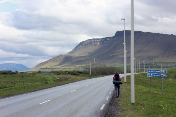 Hitchhiking Iceland