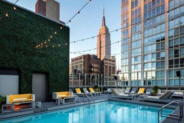 Royalton Park Avenue rooftop pool.