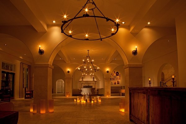 Hotel St. Francis Lobby - Santa Fe, New Mexico