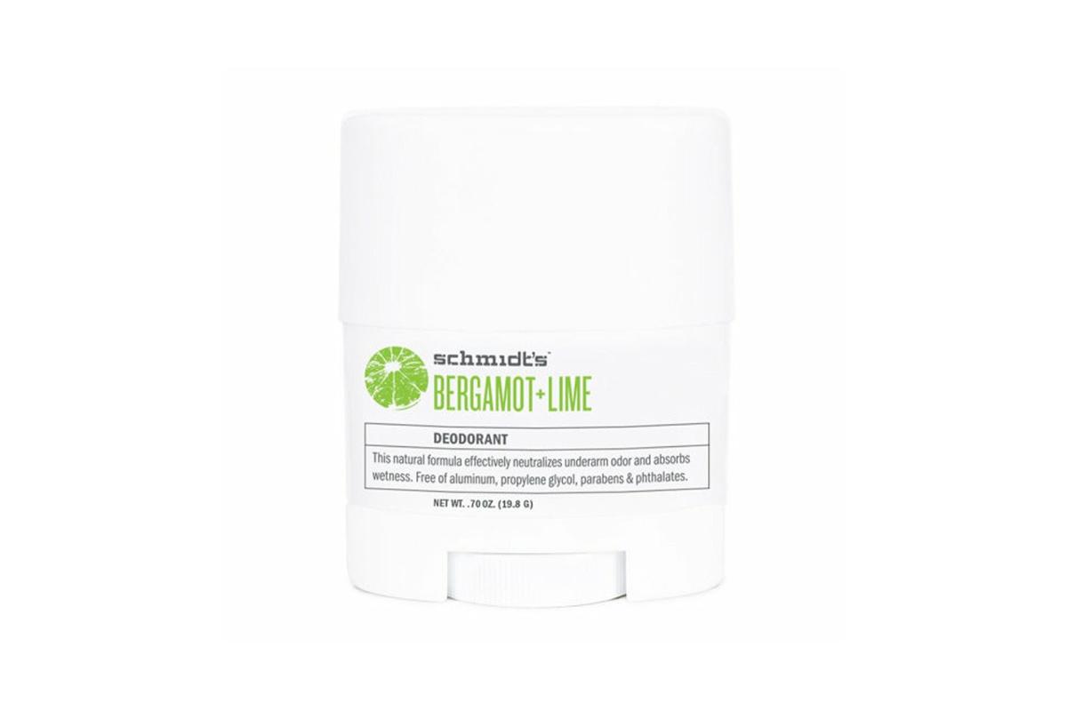 Schmidt's Bergamot + Lime Travel Deodorant