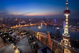 Flair rooftop bar at The Ritz-Carlton Shanghai, Pudong