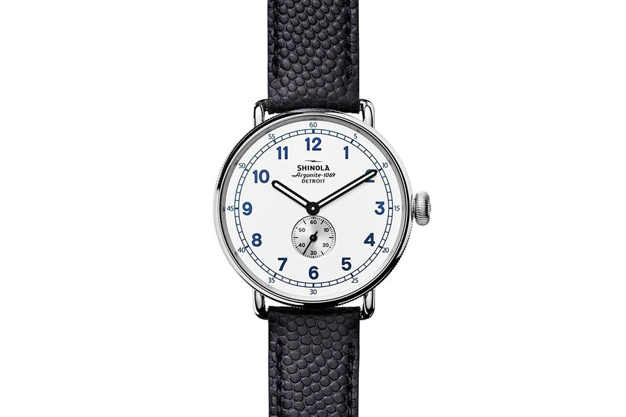 Shinola Canfield Cannonball Watch