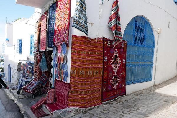 Souvenirs in Sidi Bou Said, Tunisia
